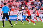 Komail Hasan Alaswad of Bahrain (L) fights for the ball with Jung Wooyoung of South Korea (R) during the AFC Asian Cup UAE 2019 Round of 16 match between South Korea (KOR) and Bahrain (BHR) at Rashid Stadium on 22 January 2019 in Dubai, United Arab Emirates. Photo by Marcio Rodrigo Machado / Power Sport Images
