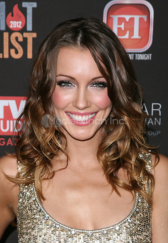 WEST HOLLYWOOD, CA - NOVEMBER 12:  Katie Cassidy at TV Guide Magazine's 2012 Hot List Party at SkyBar at the Mondrian Los Angeles on November 12, 2012 in West Hollywood, California. Credit: mpi21/MediaPunch Inc.