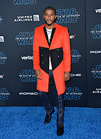 "LOS ANGELES, USA. December 17, 2019: Trevor Jackson at the world premiere of ""Star Wars: The Rise of Skywalker"" at the El Capitan Theatre.<br /> Picture: Paul Smith/Featureflash"
