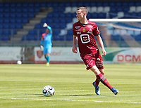 Rob Schoofs (16) of KV Mechelen with the ball during a friendly soccer game between KV Mechelen and the Greek Volos NFC during the preparations for the 2021-2022 season , on saturday 17 of July 2021 in GEEL , Belgium . PHOTO SEVIL OKTEM | SPORTPIX