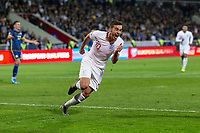 Harry Winks of England celebrates after scoring his side's first goal to make the score 0-1 during the UEFA Euro 2020 Qualifying Group A match between Kosovo and England at Fadil Vokrri Stadium on November 17th 2019 in Pristina, Kosovo. (Photo by Daniel Chesterton/phcimages.com)<br /> Photo PHC Images / Insidefoto <br /> ITALY ONLY