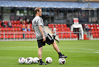Belgian goalkeepercoach Sven Cnudde pictured during a friendly female soccer game between the national teams of Luxemburg and Belgium , called the Red Flames  in a preparation towards the qualification for the  FIFA Women's World Cup , on saturday 12 th of June 2021  in Wiltz , Luxemburg . PHOTO SPORTPIX BE   SPP   DAVID CATRY