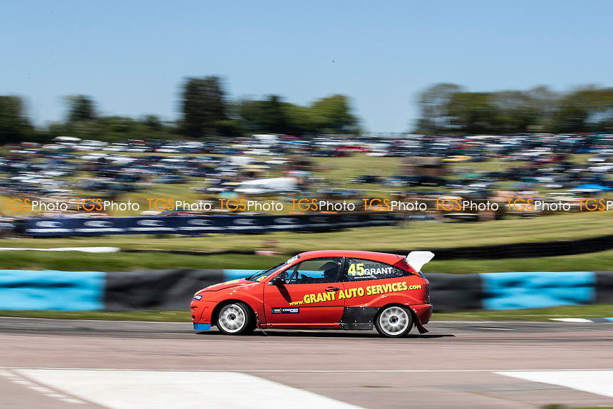 Andy Grant, Ford Focus, Retro 4WD during the 5 Nations BRX Championship at Lydden Hill Race Circuit on 31st May 2021