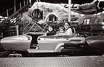 1978. Kirsten, Tolston, Matisse, and Kirsten in coaster car. Atlantic City, NJ.