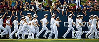 09/09/17: Photography of the Navy Midshipmen v. The Tulane Green Wave, Saturday afternoon September 9, 2017 at the Navy-Marine Corps Memorial Stadium in Annapolis, Maryland. Photo by: PatrickSchneiderPhoto.com