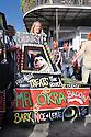 Mystic Krewe of Barkus parade, dog as Mr. Okra, 2015
