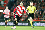 Athletic de Bilbao's Aritz Aduriz and the Spanish referee Fernandez Borbalan during Spanish Kings Cup match. January 05,2017. (ALTERPHOTOS/Acero)