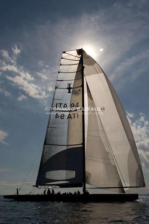 Luna Rossa ITA94. .II TROFEO DESAFÍO ESPAÑOL - Club Náutico Español de Vela, Port America's Cup, Valencia, España/Spain. 7th to the 9th of November 2008. America's Cup Class V5 competition with Desafío Español ESP97, Team Origin GBR88, Alinghi SUI100, Luna Rossa ITA94 and near one hundred of yachts will participate.
