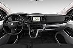 Stock photo of straight dashboard view of 2017 Citroen Jumpy Business 5 Door Cargo Van Dashboard