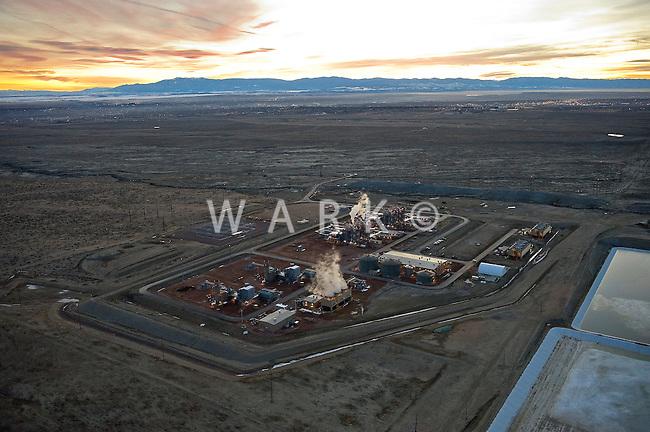 Natural Gas fired electric generation plant. Pueblo, Colorado. 2011