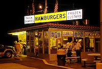 Roadside hamburger and ice cream stand. New Jersey