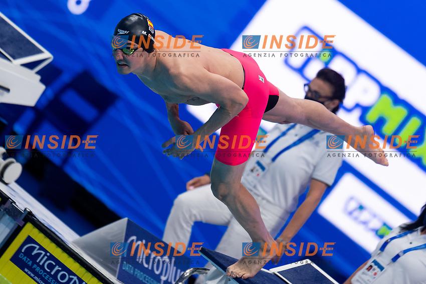 DURAN NAVIA Miguel ESP<br /> 200m Freestyle Men Heats<br /> Swimming<br /> Budapest  - Hungary  20/5/2021<br /> Duna Arena<br /> XXXV LEN European Aquatic Championships<br /> Photo Giorgio Scala / Deepbluemedia / Insidefoto