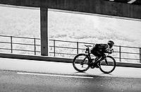Reinardt Janse van Rensburg (ZAF/Dimension Data) descending<br /> <br /> Stage 5: Gstaad > Leukerbad (155km)<br /> 82nd Tour de Suisse 2018 (2.UWT)