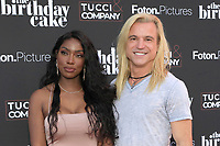 LOS ANGELES - JUN 16:  Dru Gash, Ebony Graham at The Birthday Cake LA Premiere at the Fine Arts Theater on June 16, 2021 in Beverly Hills, CA
