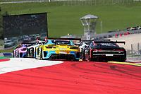 5th September 2021; Red Bull Ring, Spielberg, Austria; DTM Race 2 at Spielberg;   Start of the DTM race at the Red Bull Ring