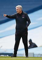 Football - 2020 / 2021 Premier League - Manchester City vs West Ham United - Etihad Stadium David Moyes manager of West Ham at Etihad Stadium PUBLICATIONxNOTxINxUK 7847<br /> ITALY ONLY <br /> Photo Imago/Insidefoto