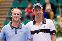 16-12-10, Tennis, Rotterdam, Reaal Tennis Masters 2010,   Matwe Middelkoop  en Bart de Gier(L)