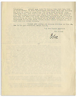 BNPS.co.uk (01202) 558833. <br /> Pic: NateDSanders/BNPS<br /> <br /> Pictured: The second page of the letter. <br /> <br /> A fascinating letter has emerged which reveals Albert Einstein predicted the evils of Adolf Hitler almost a decade before he came to power.<br /> <br /> The genius mathematician raised concerns to his wife Elsa about the Nazi leader after his release from prison in 1924 following a failed coup.<br /> <br /> He feared for the Jewish population of his homeland after Hitler laid out his anti-semitic political manifesto in Mein Kampf.<br /> <br /> Elsa, writing to her cousin Erich in 1934, describes Einstein as a 'seer' and 'prophet' for having foreseen the perilous path Germany was headed down.