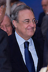 "02.10.2012. King Juan Carlos I of Spain attends the delivery of the ""New Economy Forum Awards 2011 and 2012"" to the Portuguese Republic and the Italian Republic, in the person of its Presidents, Anibal Cavaco Silva and Giorgio Napolitano respectively, at the Teatro de la Zarzuela in Madrid, Spain. In the image Florentino Perez (Entrepreneur and Real Madrid C.F. President). (Alterphotos/Marta Gonzalez)"