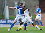 St Johnstone v Bradford City…19.07.16  McDiarmid Park, Perth. Pre-season Friendly<br />Craig Thomson battles with Mark Marshall<br />Picture by Graeme Hart.<br />Copyright Perthshire Picture Agency<br />Tel: 01738 623350  Mobile: 07990 594431