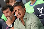 Getafe CF's coach Michel Gonzalez during La Liga match. August 29, 2021. (ALTERPHOTOS/Acero)
