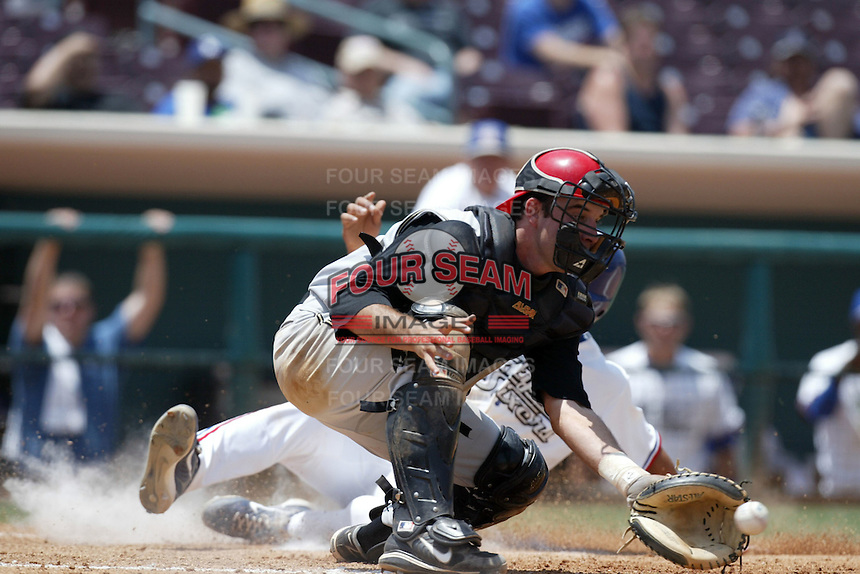May 30 2007: Brett Martinez of the Rancho Cucamonga Quakes during game against the Inland Empire 66'ers at Arrowhead Credit Union Park in San Bernardino,CA.  Photo by Larry Goren/Four Seam Images
