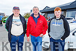 James Power, Bob Murphy and Billy Power at the Irish Ford Fair in Banna on Sunday.