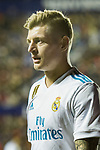 Toni Kroos of Real Madrid reacts during the La Liga 2017-18 match between Levante UD and Real Madrid at Estadio Ciutat de Valencia on 03 February 2018 in Valencia, Spain. Photo by Maria Jose Segovia Carmona / Power Sport Images