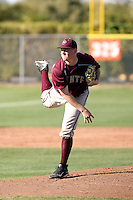 Kevin Cron #24  of Mountain Pointe High School plays in a game against home team Corona Del Sol High School on March 8, 2011 in Tempe, Arizona. .Photo by:  Bill Mitchell/Four Seam Images.