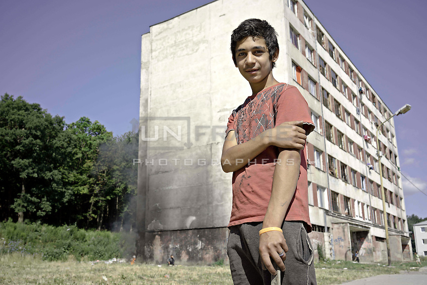 Lunik IX is now home to five thousand Roma, since 2011 the local government have demolished five blocks subsequently living Roma inhabitant now where to live. A large proportion of children don't attend local schools in Lunik IX due to costs on their parents.