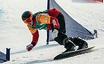 Alex Massie, PyeongChang 2018 - Para Snowboard // Parasnowboard.<br /> Highlights of Team Canada during Para Snowboard competition // Faits saillants d'Équipe Canada lors d'une compétition de parasnowboard. 12/03/2018.