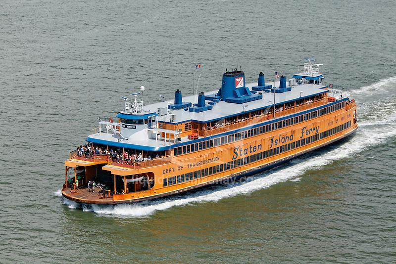 Staten Island ferry, Manhattan, New York City, New York, United States of America.