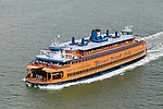Staten Island ferry, Manhattan, New York City, New York, United States of America.