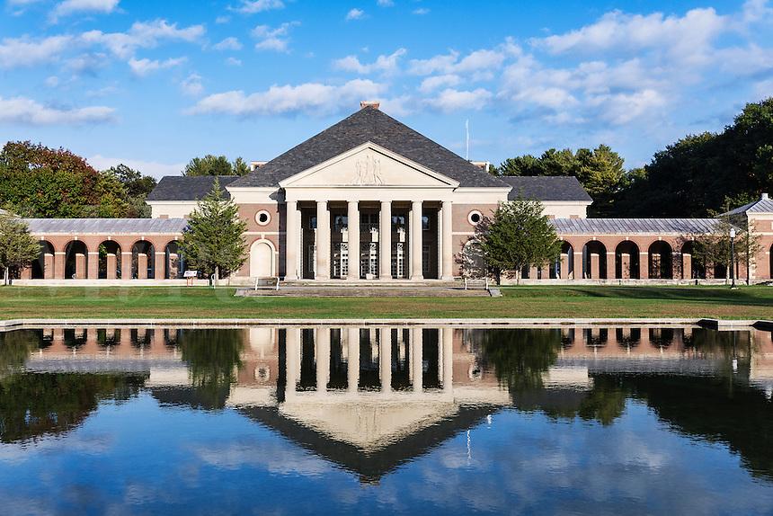 Hall of Springs, Saratoga Springs, New York, USA