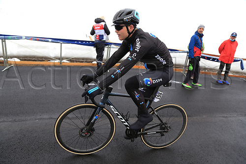 24th May 2021, Giau Pass, Italy; Giro d'Italia, Tour of Italy, route stage 16, Sacile to Cortina d'Ampezzo ; 198 STORER Michael AUS