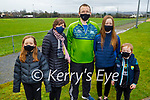 The Ryan family from Keel who took part in the MKL Gaels virtual walk fundraiser for the Tir na nÓg Orphanage. L to r: Grace, Gretta, Peter, PJ, Tara and Páidí Ryan.