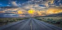 Road less traveled - Utah - Antelope Island SP - Great Salt Lake