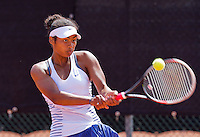Netherlands, Rotterdam August 05, 2015, Tennis,  National Junior Championships, NJK, TV Victoria, Daevina Achong    <br /> Photo: Tennisimages/Henk Koster