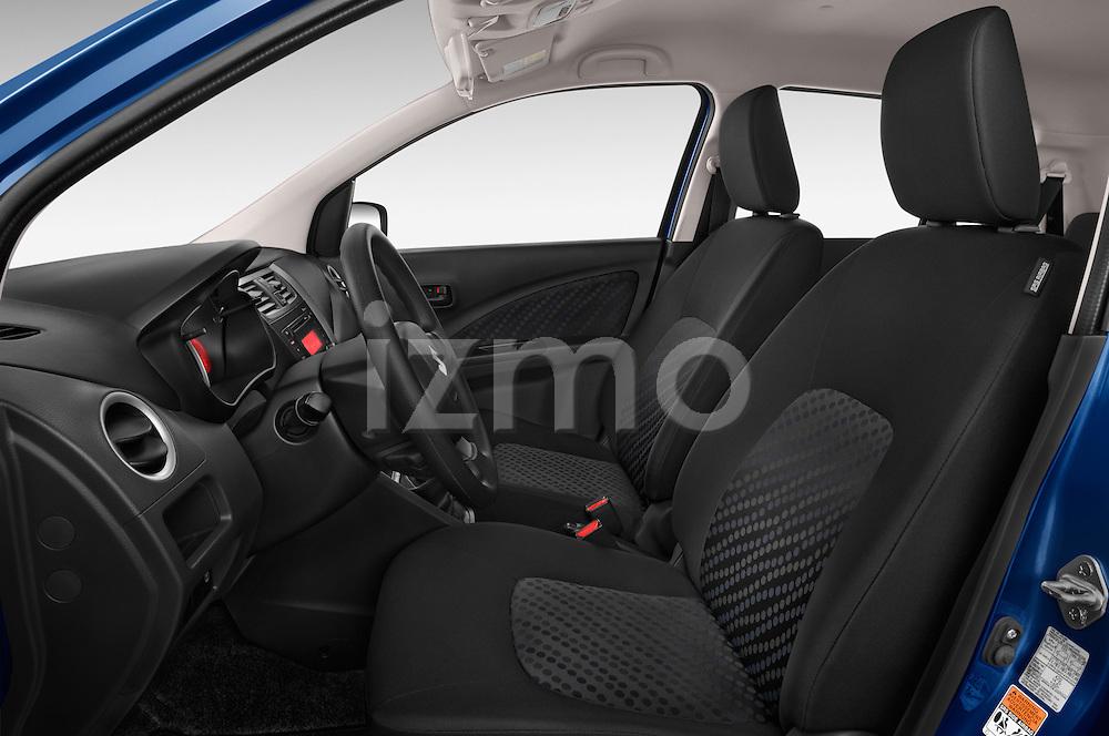 Front seat view of a 2015 Suzuki CELERIO Grand Luxe Xtra 5 Door Hatchback Front Seat car photos