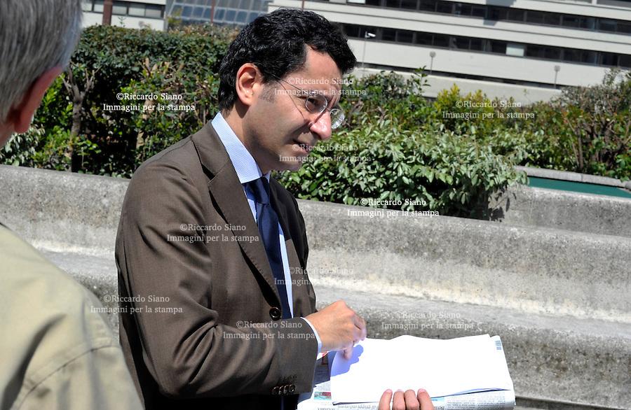 - NAPOLI   2011 -  Sandro Santangelo, capo della segreteria politica del governatore Stefano Caldoro.