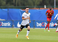 German Paul Nebel pictured during a friendly soccer game between the national teams Under19 Youth teams of Belgium and Germany on tuesday 8 th of September 2020  in Genk , Belgium . PHOTO SPORTPIX.BE | SPP | DAVID CATRY