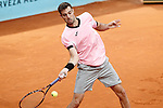 Marcel Granollers, Spain, during Madrid Open Tennis 2015 match.May, 7, 2015.(ALTERPHOTOS/Acero)