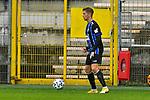 Waldhofs Jan Hendrik Marx (Nr.26) am Ball beim Spiel in der 3. Liga, SV Waldhof Mannheim - Türgücü München.<br /> <br /> Foto © PIX-Sportfotos *** Foto ist honorarpflichtig! *** Auf Anfrage in hoeherer Qualitaet/Aufloesung. Belegexemplar erbeten. Veroeffentlichung ausschliesslich fuer journalistisch-publizistische Zwecke. For editorial use only. DFL regulations prohibit any use of photographs as image sequences and/or quasi-video.