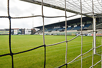 illustration picture of the Pierre Cornelis stadion  pictured before  a female soccer game between Eendracht Aalst and SV Zulte Waregem on the seventh matchday of the 2020 - 2021 season of Belgian Scooore Womens Super League , Saturday 14 th of November 2020  in Aalst , Belgium . PHOTO SPORTPIX.BE | SPP | DIRK VUYLSTEKE