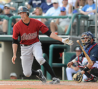 15 March 2009: Hunter Pence of the Houston Astros hits during a game against the Atlanta Braves at the Braves' Spring Training camp at Disney's Wide World of Sports in Lake Buena Vista, Fla. Photo by:  Tom Priddy/Four Seam Images