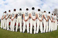 Essex CCC 2012 players pose for team photos in County Championsip kit - Essex CCC Press Day at the Ford County Ground, Chelmsford, Essex - 03/04/12 - MANDATORY CREDIT: Gavin Ellis/TGSPHOTO - Self billing applies where appropriate - 0845 094 6026 - contact@tgsphoto.co.uk - NO UNPAID USE.