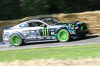 A 2016 Ford Mustang RTR, 7.1 litre V8, driven by Vaughn Gittin Jr during the hill climb at Goodwood Festival of Speed 2016 at Goodwood, Chichester, England on 24 June 2016. Photo by David Horn / PRiME Media Images