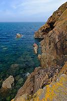 Küste  bei Devil's Hole, Insel Jersey, Kanalinseln