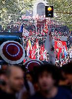 20131019 ROMA-CRONACA: MANIFESTAZIONE CONTRO LE POLITICHE DI AUSTERITA' DEL GOVERNO