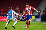 Victor Machin, Vitolo (R), of Atletico de Madrid fights for the ball with Unai Bustinza, Bustinza M, of CD Leganes during the La Liga 2017-18 match between Atletico de Madrid and CD Leganes at Wanda Metropolitano on February 28 2018 in Madrid, Spain. Photo by Diego Souto / Power Sport Images